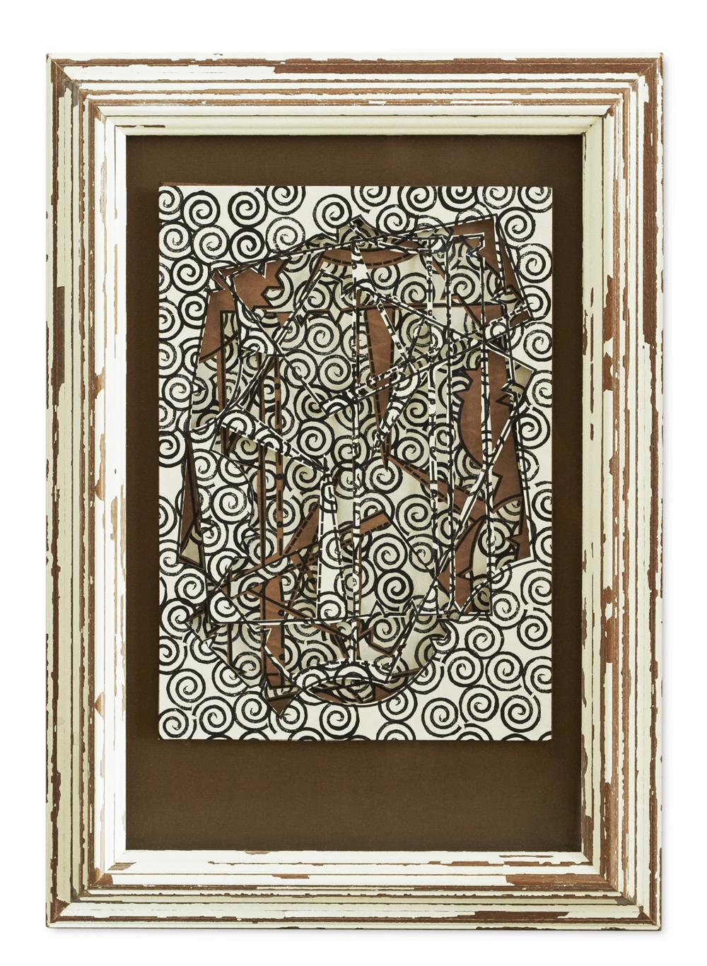 Paper Cuts ,  2015  47.3 x 33.2 cm (framed)£1200
