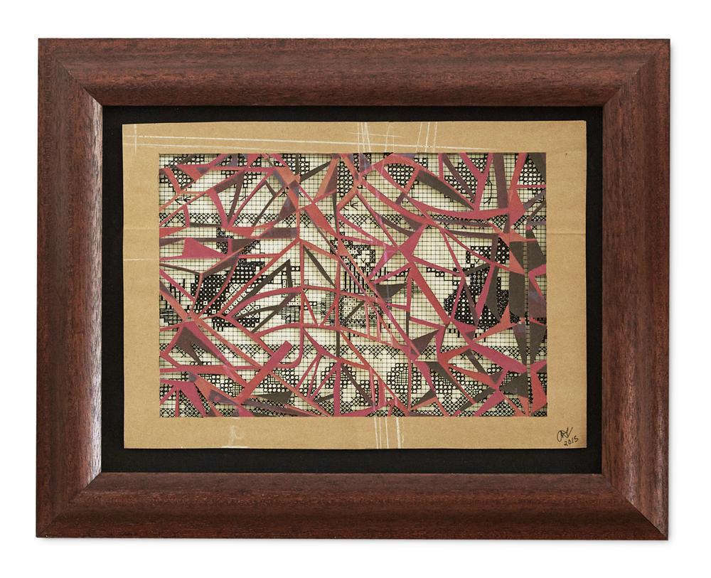 Petit Fille ,  2015  32.3 x 41 cm (framed) £1050