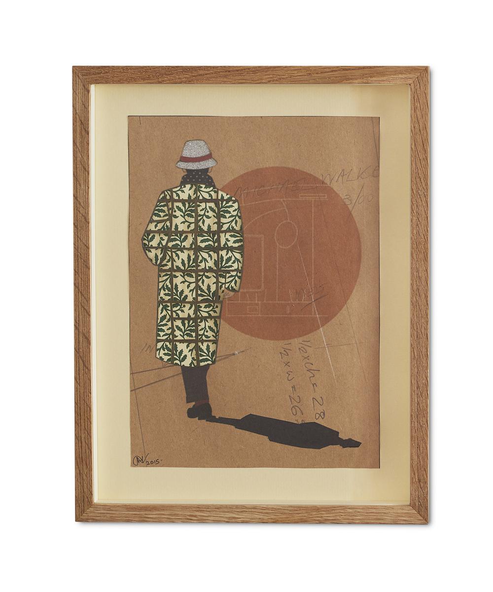 Goodbye Stefano ,  2015  38.2 x 29.6 cm (framed) £440