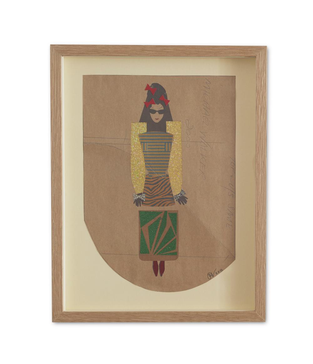Dancing Diane ,  2015  38.2 x 29.6 cm (framed) £440