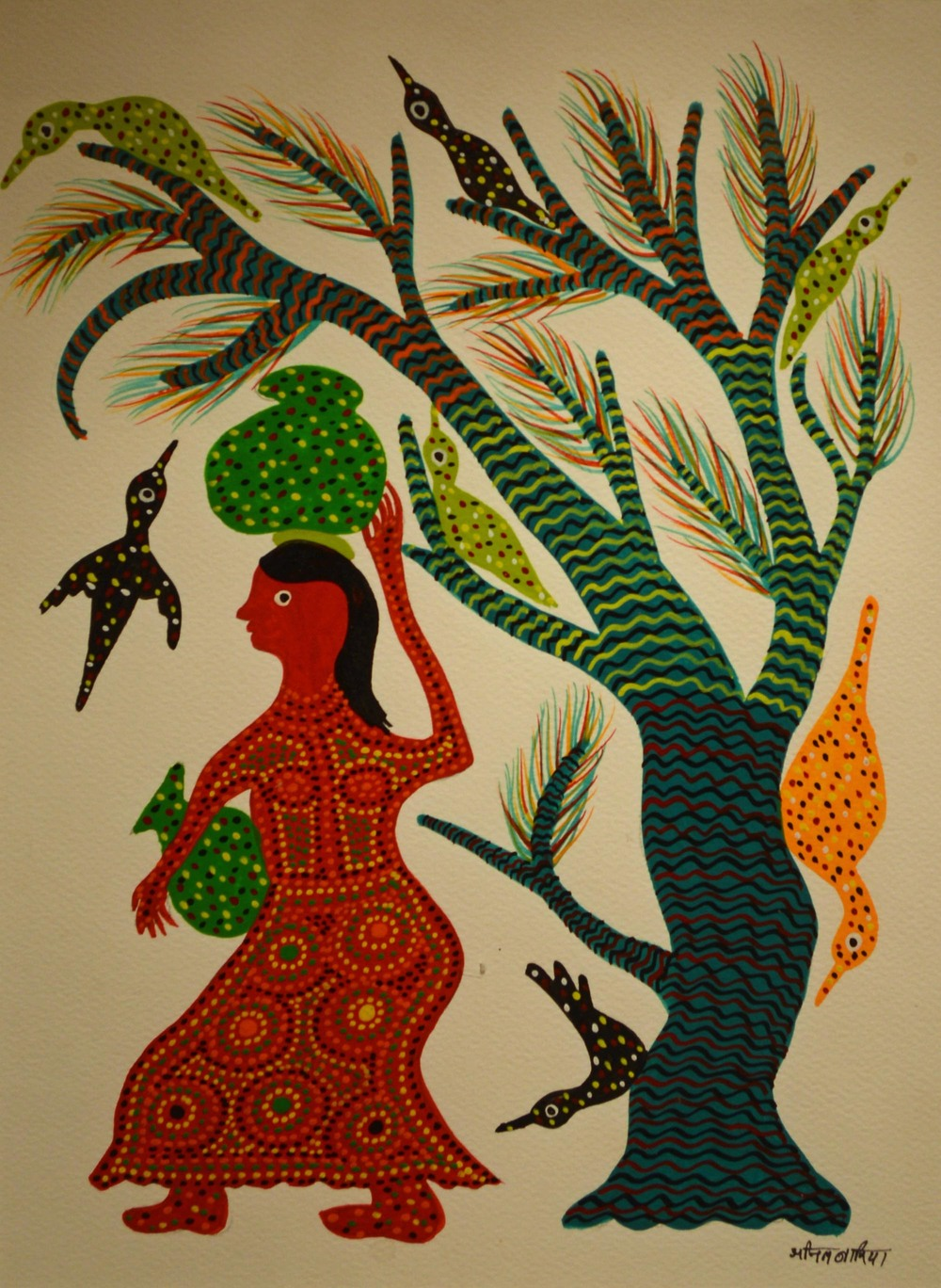 Jor Singh, acrylic on paper, 49x34cm, 2015.jpg