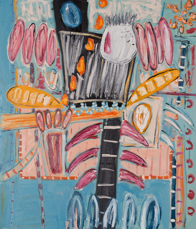 Dhokra Walla | oil on canvas | 107cm x 92cm | £4500