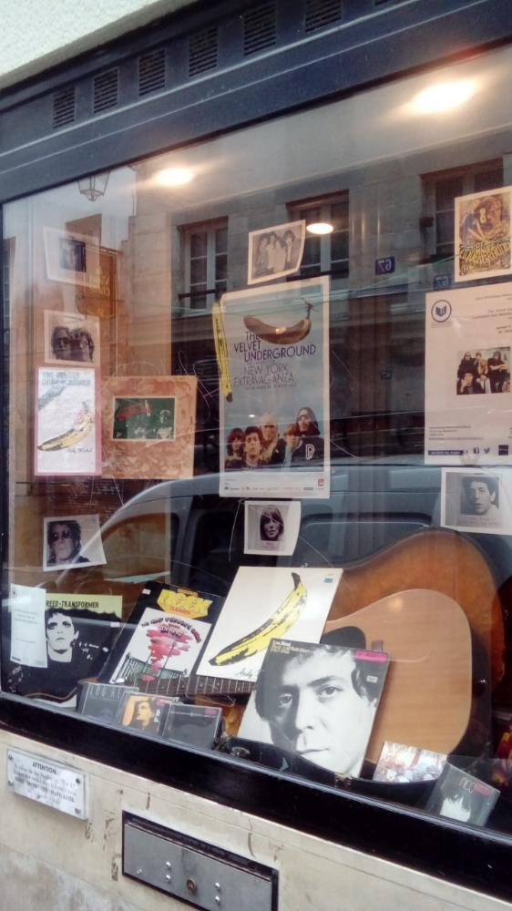 Window display, Mohammed Arkoun Library