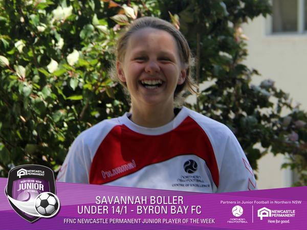 Savannah Boller Player of the Week