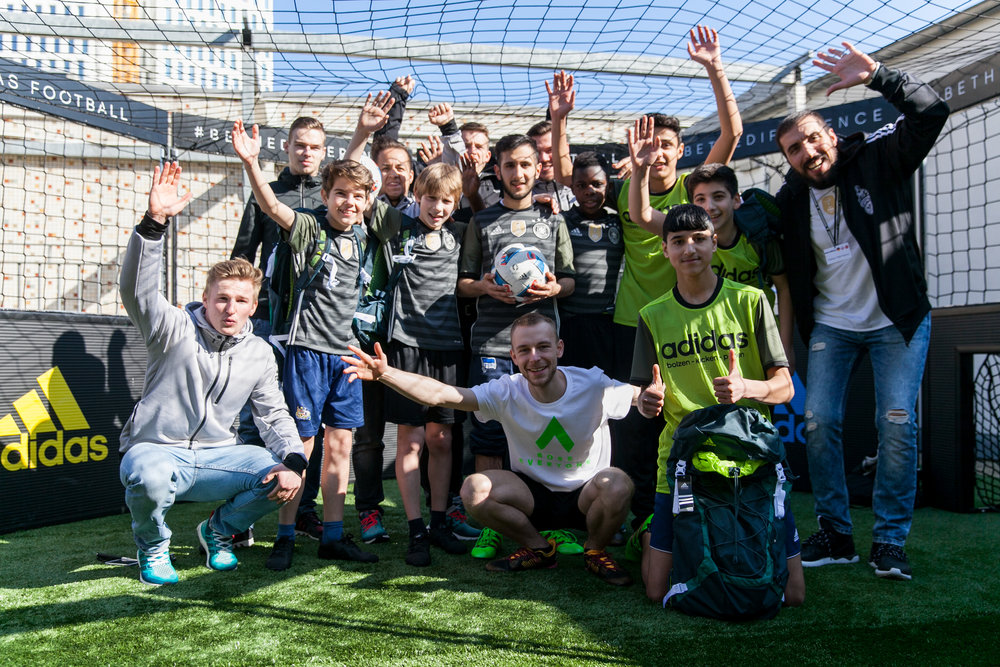 As always it was a very fun day working with Adidas and all the people involved, to be able to showcase my skills with people on the rooftop of a store with the sun shining down was a pretty awesome way to spend a day. Managed to get this one photo (above) near the end of the event with some of the kids and organisers, what a wonderful bunch of people to work with! I hope that the kids take their new-found skills as well and keep up the practice.  February-March has been a busy but great part of 2016 for me, and I hope to write about some of the upcoming events very soon as well as the other projects I have been working on.  Peace!