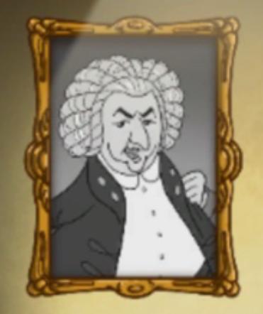 Her findes opslaget om Johann Sebastian Bach.
