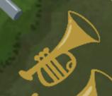 Opslaget om trompeten findes her.