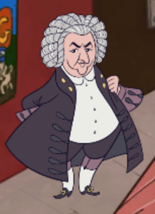 Johann Sebastian Bach står bag byens biograf.