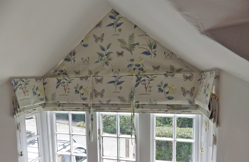 Roman Blinds With Sail Wendy Debenham