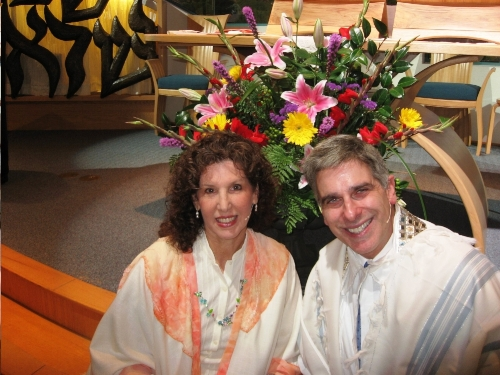 Rabbi Alicia Magal and Cantorial Soloist Marden Paul will lead our High Holy Days Services