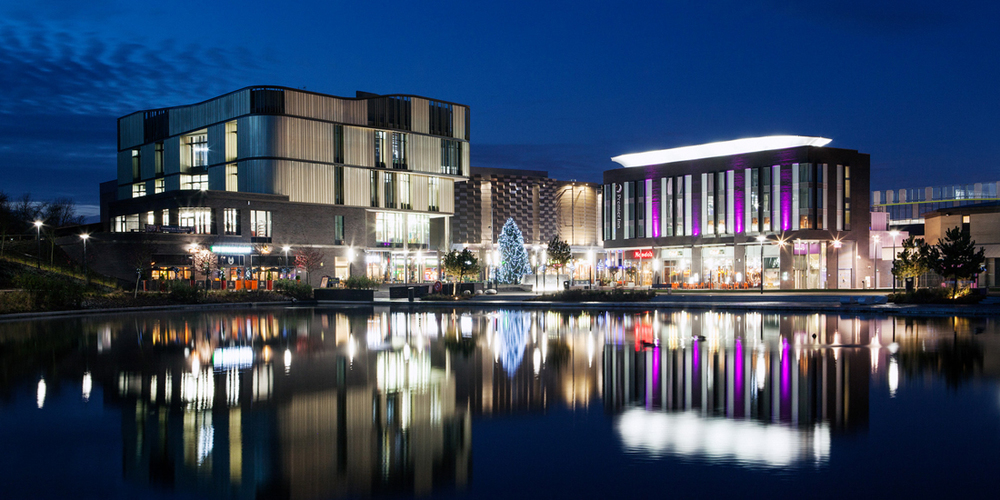Southwater Square, Telford by Citygrove