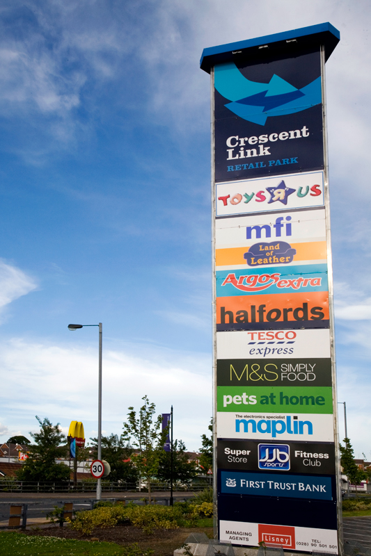 Crescent Link Retail, Londonderry, Citygrove