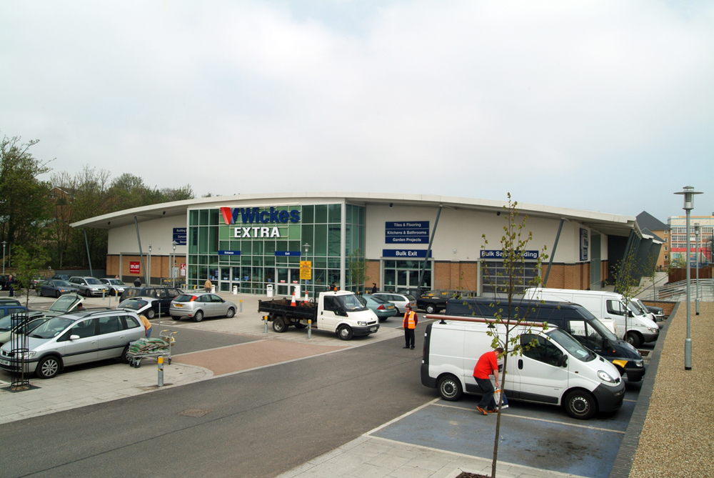 Wickes Extra Superstore, Maidstone, Citygrove