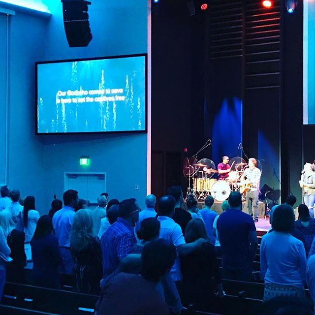 @westendchurchtx is rockin today!