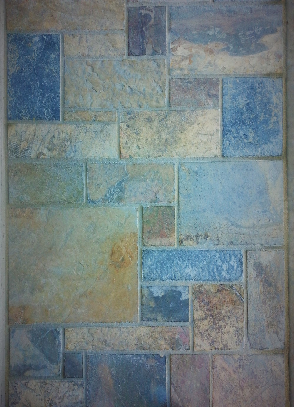 Kanmantoo Bluestone dimensioned paving. South Australia.