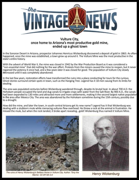 THE VINTAGE NEWS -