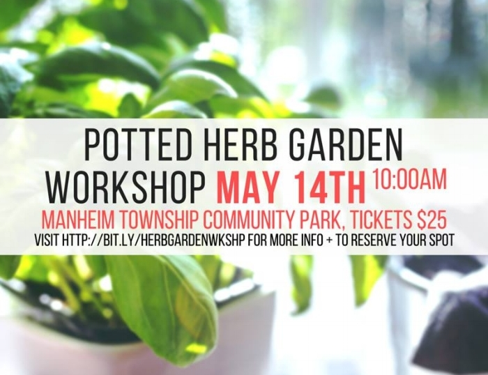 potted herb workshop 2016