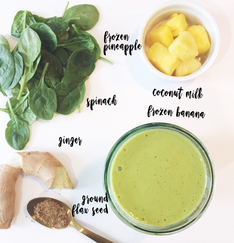 Lucky Green Smoothie Recipe