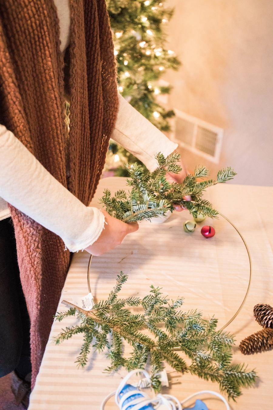 Oakmoss Collective Wreath Making