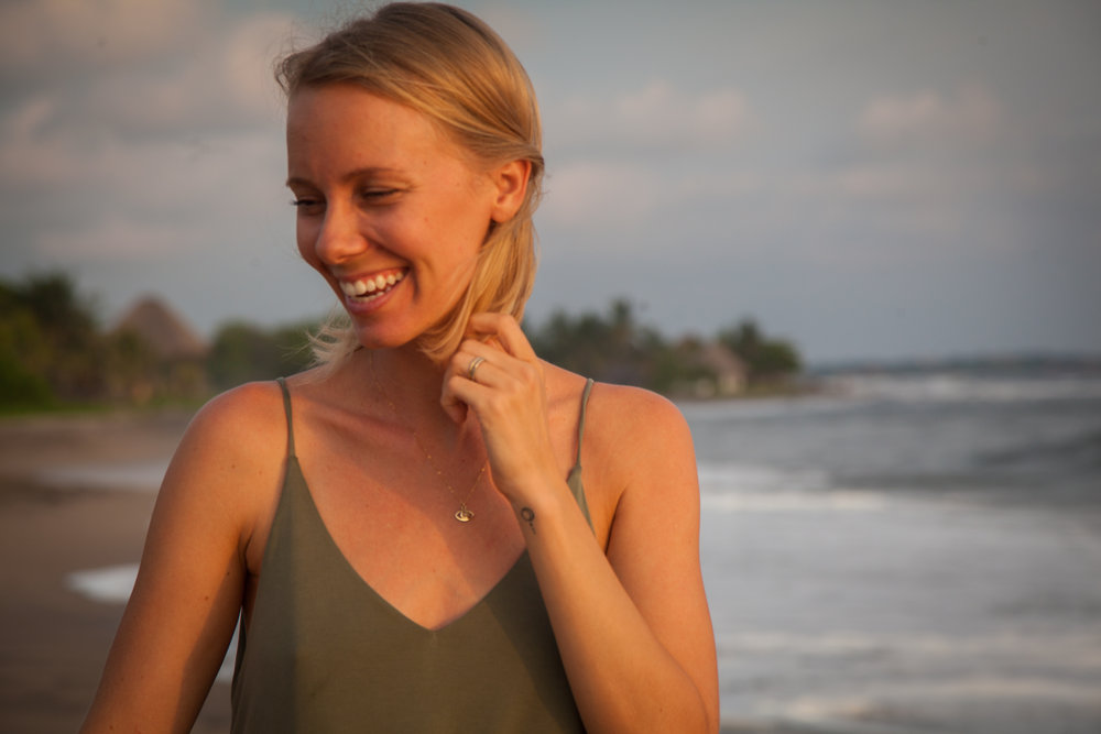 - Nikki Collum moved to Nicaragua in 2012 to pursue her love of yoga and travel. She has since spent the last few years traveling throughout Nicaragua and Central America exploring various forms of yoga, meditation, body work and holistic health. These days, she happily calls Coco Loco Resort hOMe.As a mama, moon lover and dedicated student, Nikki thoughtfully weaves themes and intentions into her classes. A mash-up of hatha, yin and restorative yoga, her classes are carefully designed to use the anatomical keys of the body to unlock mental and emotional blockages. She believes that yoga is a way of life and that through healing ourselves, we can heal and transform the world while inspiring and empowering others to do the same through our presence.When she is not teaching yoga she is often found with her daughter Naia on one hip and her hands in the kitchen playing with vegetarian, vegan and raw foods.