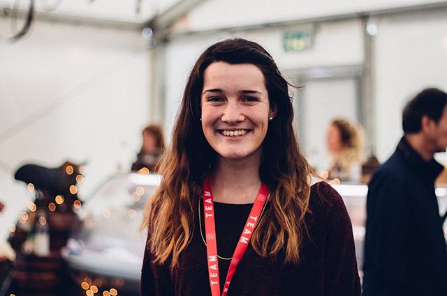 """""""God showed his love & grace to me in so many ways and I spent time really growing in my relationship with Him."""" Bryony was a student a few years ago and is leading Grounds cafe this week.  #soulsurvivor16 #gapyear #applynow #alumni"""