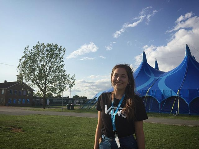 "Meet Beth! She was on our worship stream this year 🎼 ""I've loved being able to live, serve, worship and grow in such an encouraging community of people"" ..................... There's still time to join us for this year! Visit our website and get in touch 🎉"