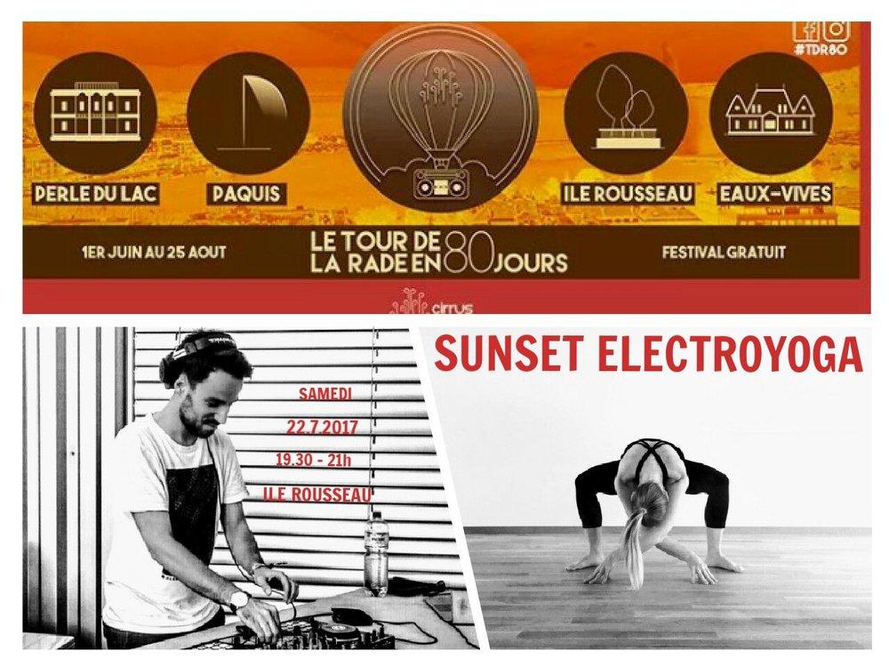 sunset electroyoga-progessive vinyasa yoga-ile rousseau-geneva-festival de la rade.jpg