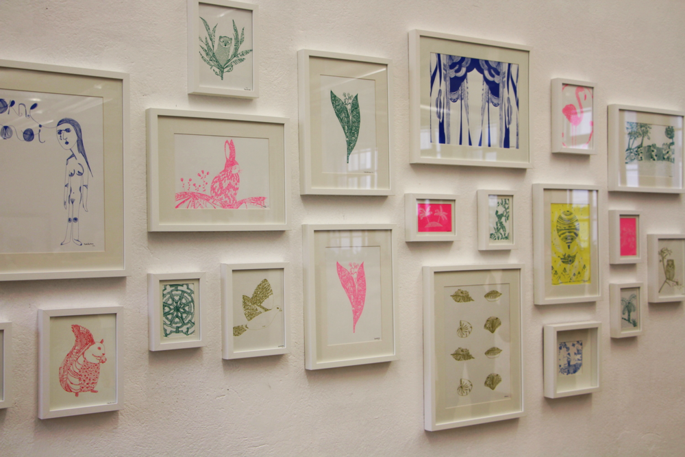 L'exposition de Natacha Veen.