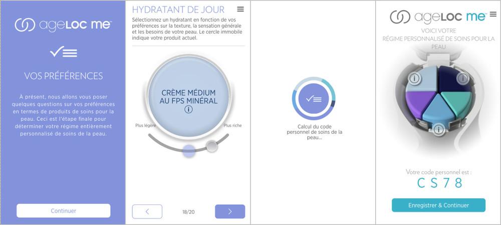 Mademoiselle DB BLog test ageLOC ME personnalisation application