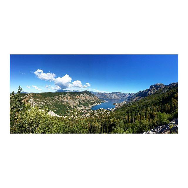 🌲J'aime les panorama 🌲  #kotorbay #montenegro #panorama