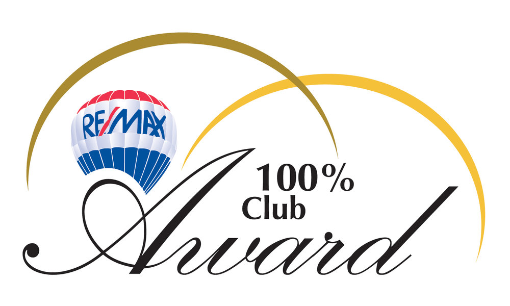 """100% Club Award - Associates who on an annual basis achieved the highest levels of productivity that were more than double industry averages with commissions levels of $100,000 - $249,999"""