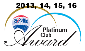 """Platinum Club Award - Associates who on an annual basis ranked among the very highest producers with gross commissions amounts of $250,000 - $499,999."""