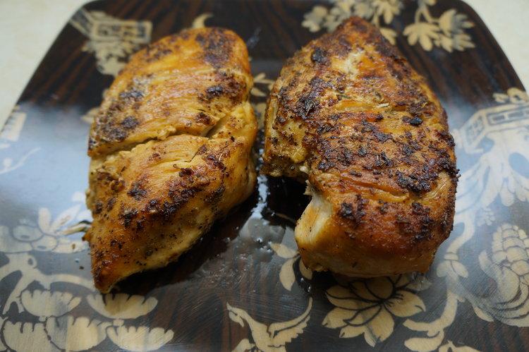 Brunch-and-Sew-Chicken on Ciabatta
