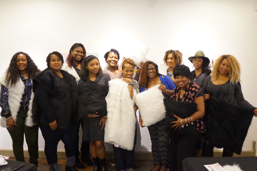 Brunch and Sew taught by Memphis Fashion Blogger Andrea Fenise