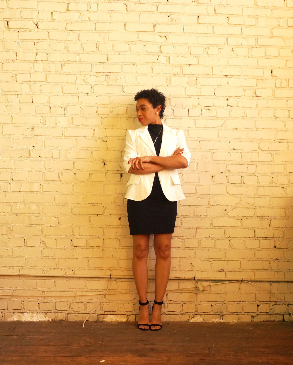 blazer made by AF  dress ASOS accessories Style Junkie shoes  Sugar Plum