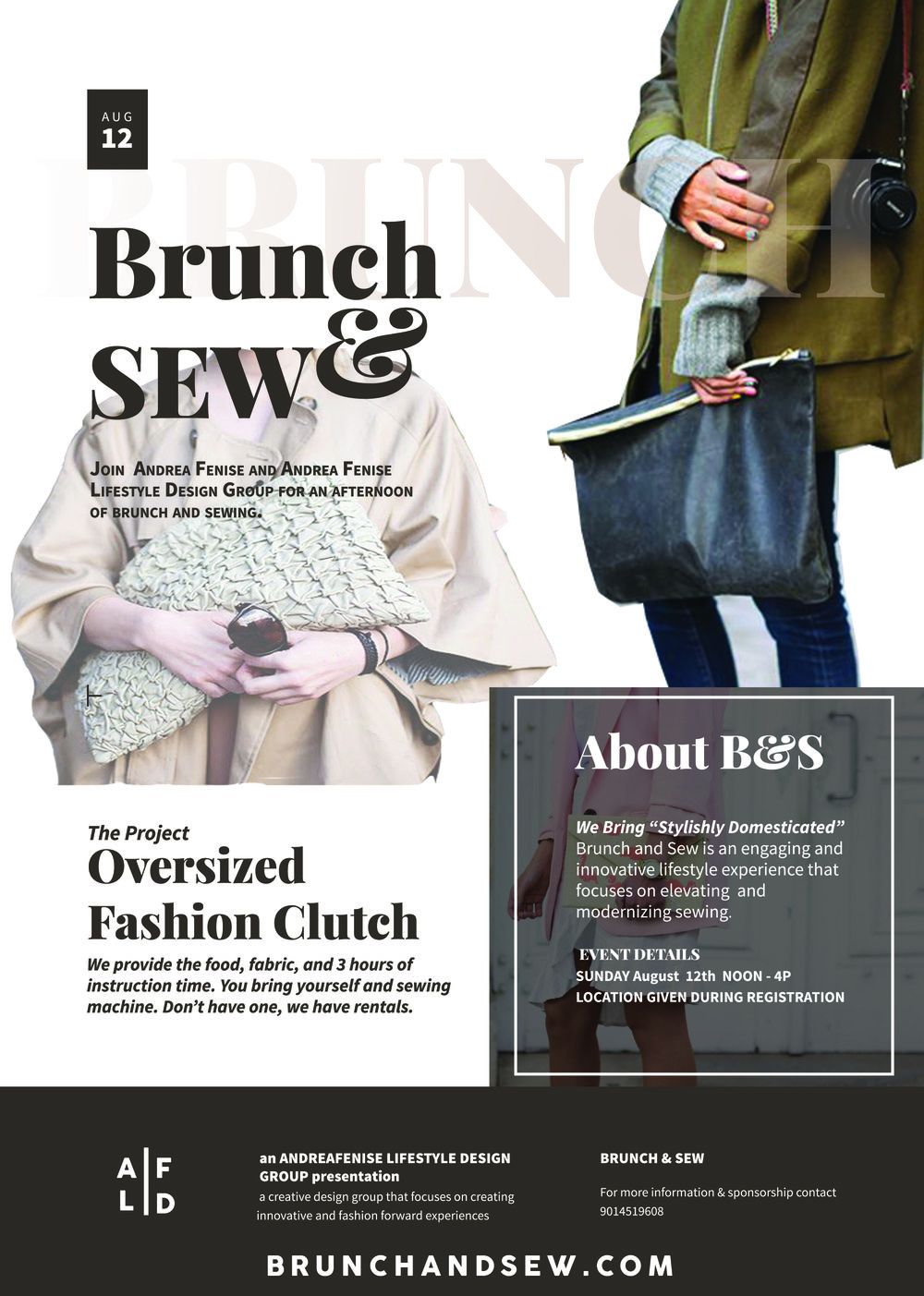 Summer Brunch and Sew Workshop
