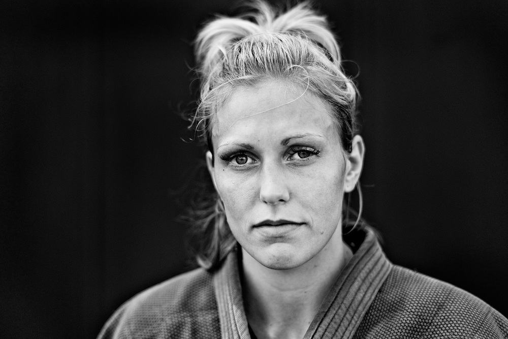Gemma Gibbons, London 2012 Olympic silver medalist. British Judo Team GB 2012