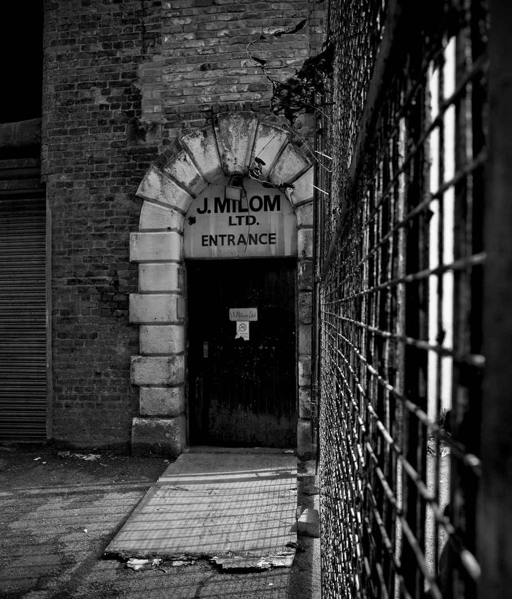 J Milon, Judo suit suppliers, opposite Strangeways Prison, Manchester.