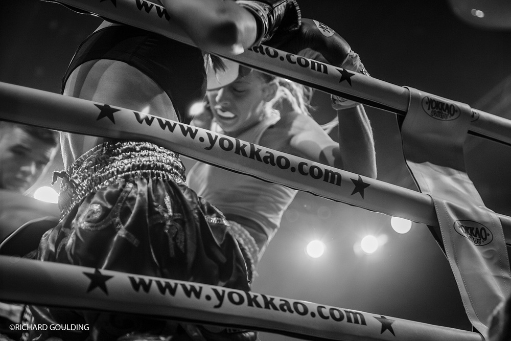 Lisa Howarth & Dakota Ditcheva Fight night