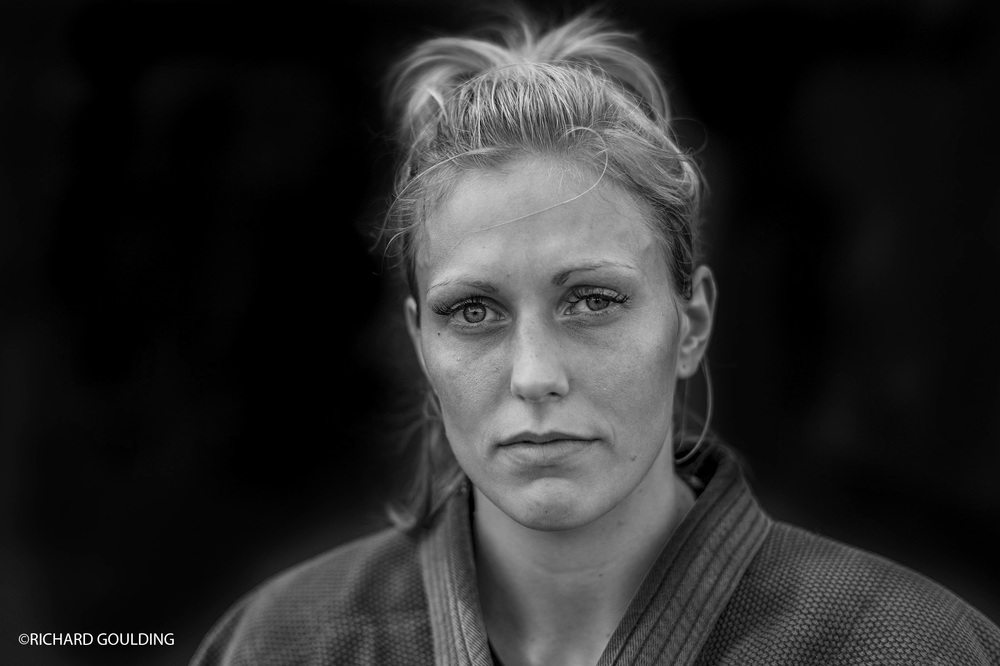 Gemma Gibbons British Judo player, well known for her emotional silver medal win at London 2012 Olympics.