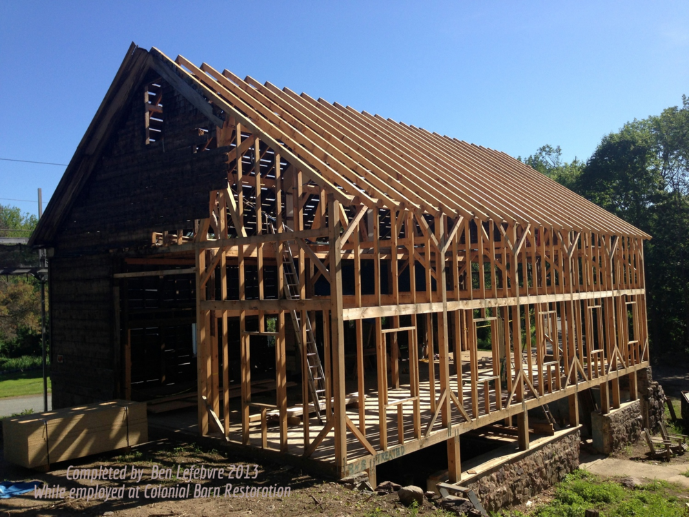 We are post and beam timber frame restoration experts.  Our projects managers have handled countless extensive repair efforts on existing buildings.  We are proficient in making seamless alterations to barn frames when their use and layout is changed to accommodate new uses or become living space.