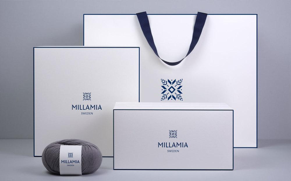 MillaMia branding