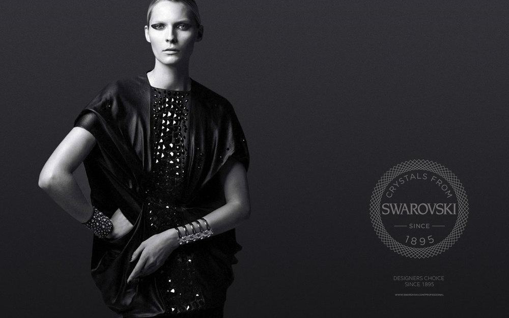 Swarovski brand re-fresh concept