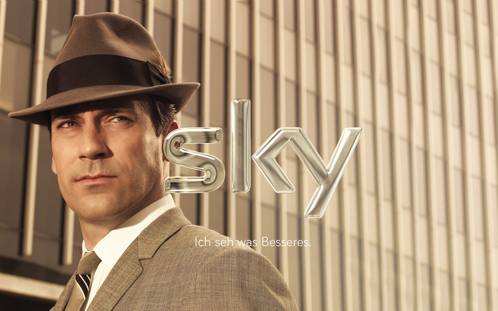 Sky Germany brand re-fresh