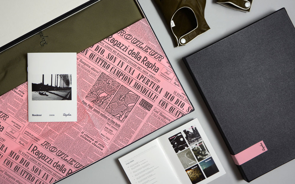 Rapha packaging