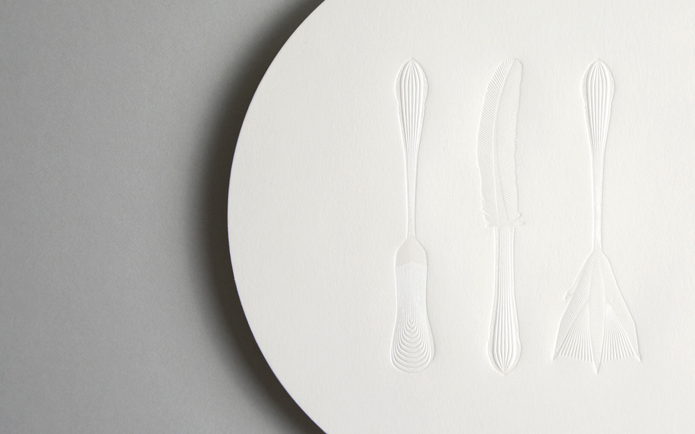 Heston Blumental and The Fat Duck restaurant re-branding