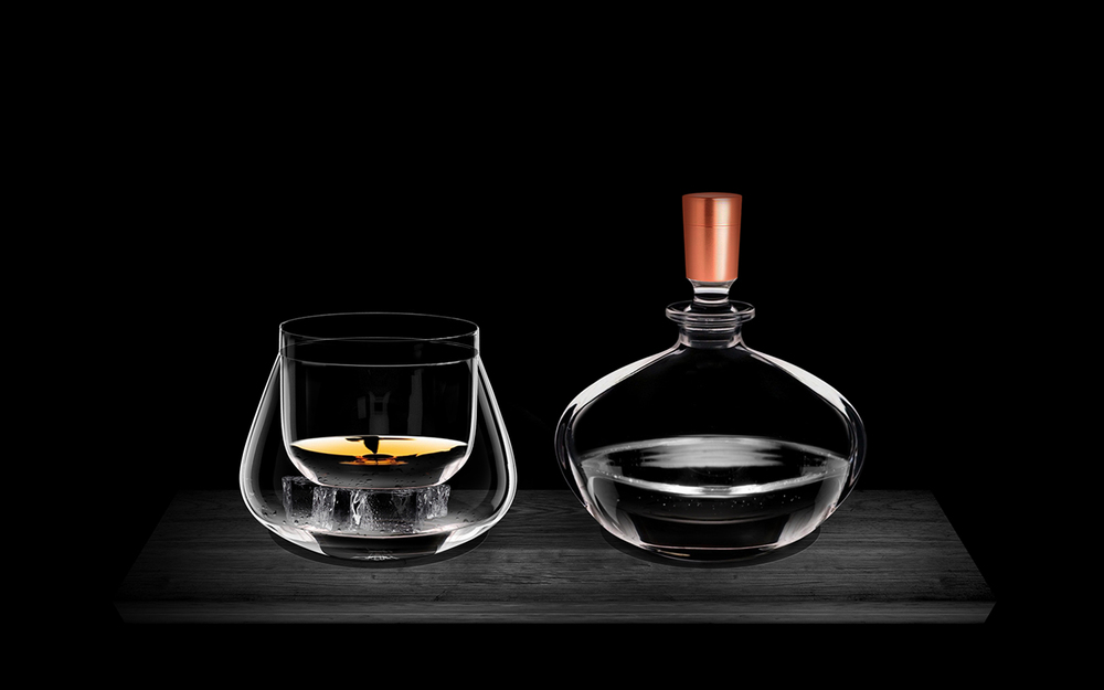 Rémy Martin glass design and serving ritual concept