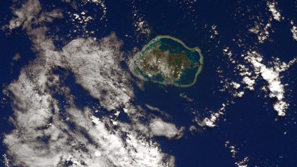 L'île de Wallis vue par l'ESA