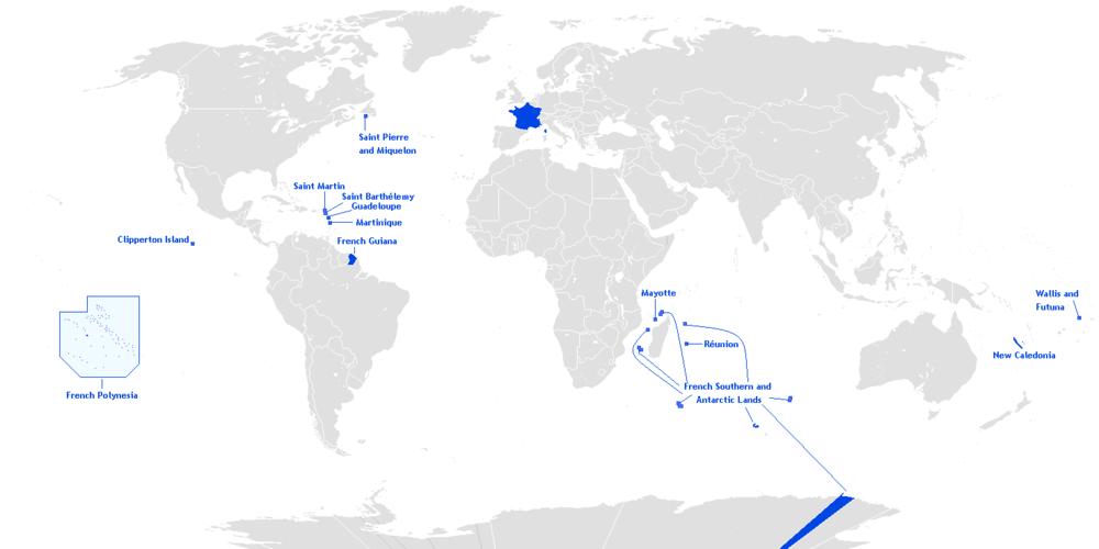 Outre-mer français By Hoshie CC BY-SA 3.0