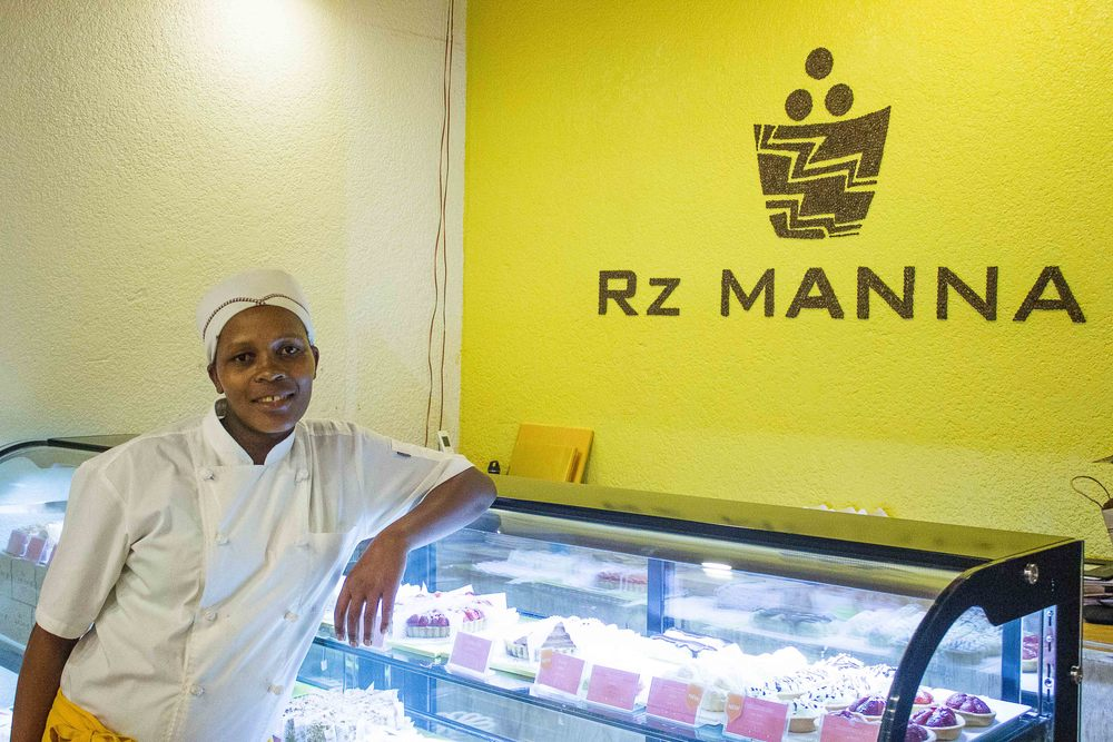 Immaculee at Rz Manna Bakery
